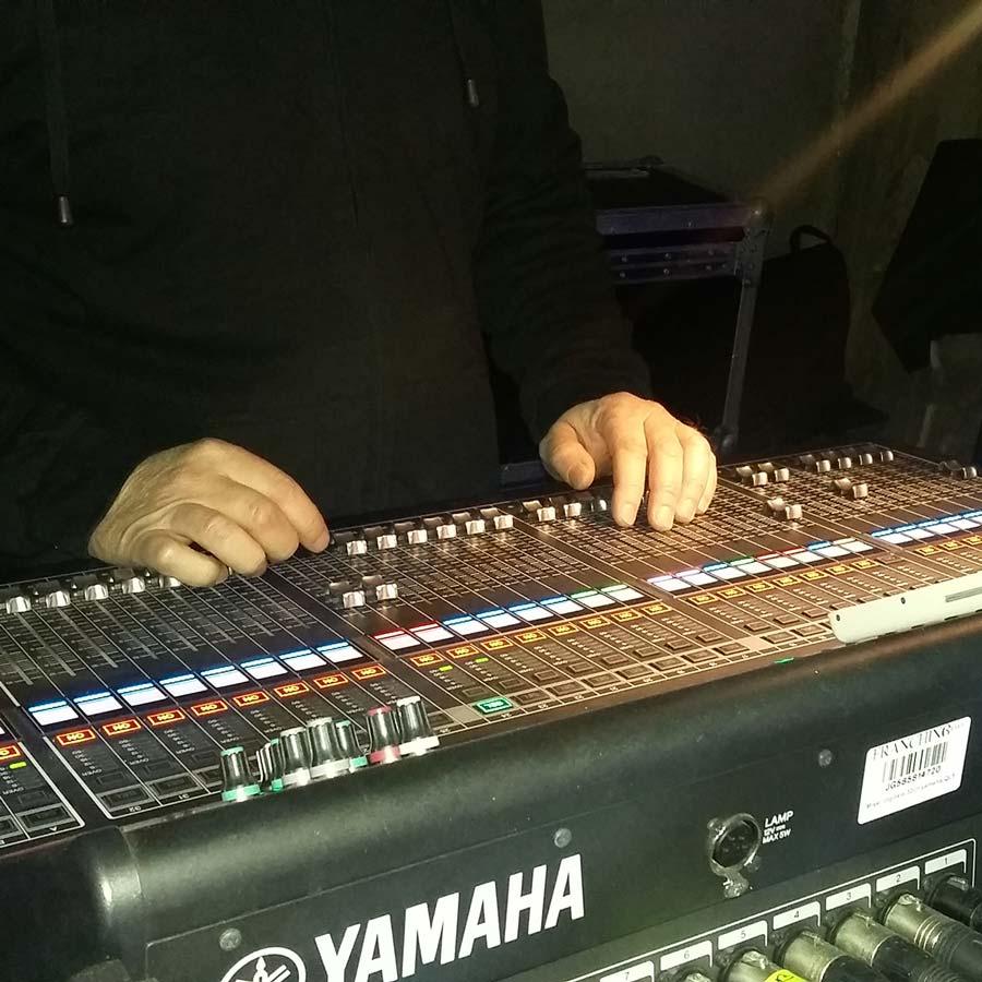 audio mixer franchino